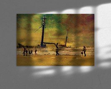 Schiffbruch von Frans Van der Kuil