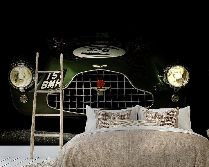 Sfeerimpressie behang: ASTON MARTIN DB3 WORKS TEAM CAR 1952 van marco de Jonge