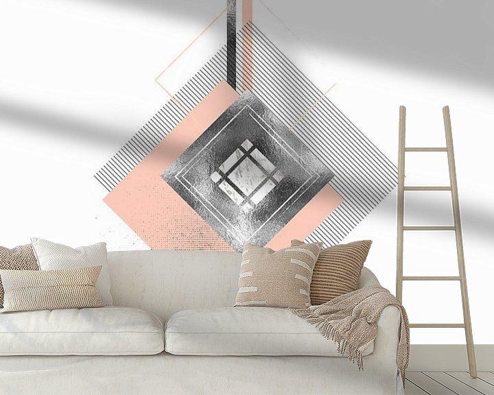 Beispiel fototapete: Skandinavisches Design Nr. 43 von Melanie Viola