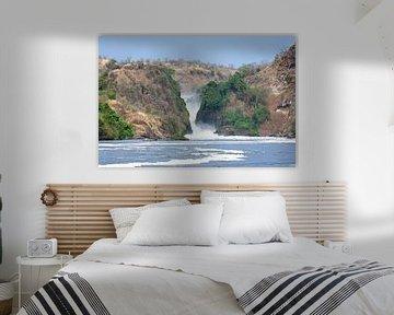 Murchison Falls, Oeganda von Robert van Hall