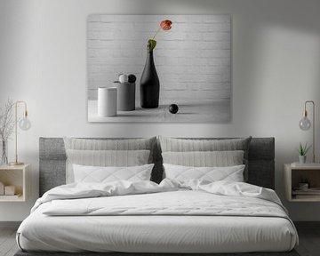 Weiß, Grau, Schwarz und Einfach. von Danny de Jong