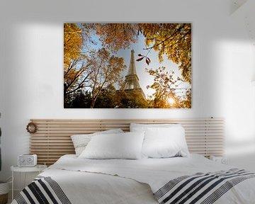 Fall in Paris sur Gerhard Nel