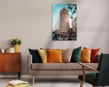 Galata Tower van Ali Celik