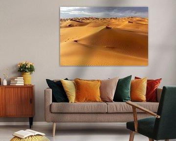 Wüste und blauer Himmel - Landschaft, Afrika von Tjeerd Kruse