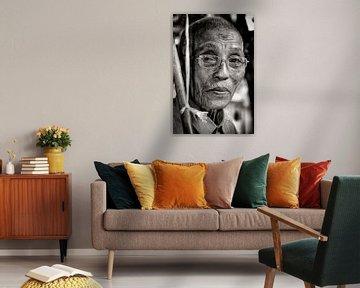 Bejaarde man. von Ton Bijvank