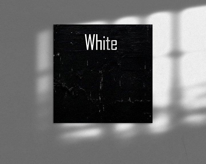 Impression: White sur PictureWork - Digital artist