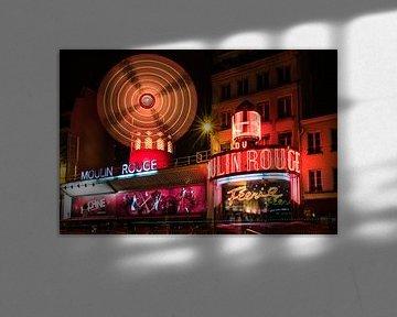 Moulin Rouge in Parijs Frankrijk von Celina Dorrestein