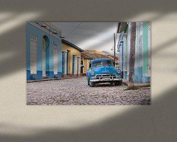 Oldtimer in Trinidad Cuba von Celina Dorrestein