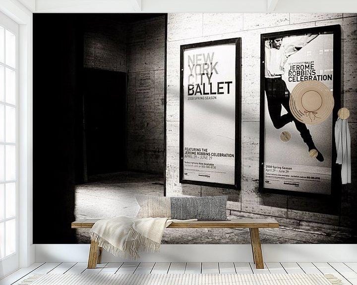 Beispiel fototapete: NYC Metropolitan Billboard von Ton Bijvank