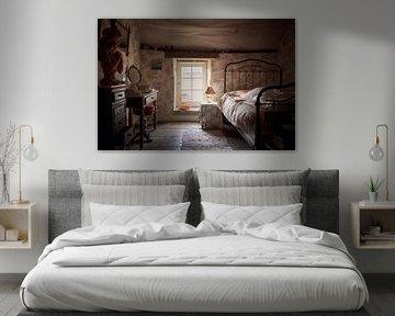 verlaten charmante slaapkamer van Kristof Ven