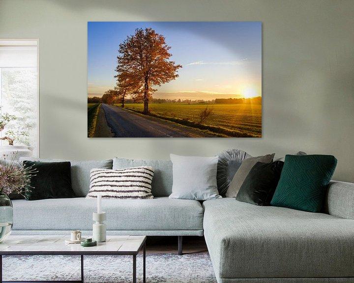 Beispiel: Baum bei Sonnenuntergang von Johan Vanbockryck