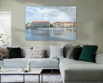 Bunte Architektur in Prag von Melvin Fotografie