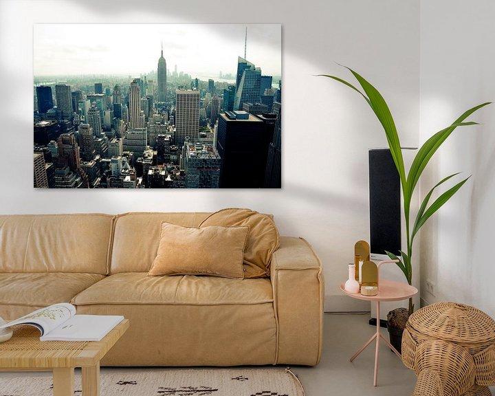 Sfeerimpressie: New York City View 3 van Arno Wolsink