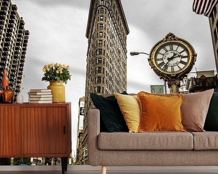 Sfeerimpressie behang: Fifth Avenue van denk web