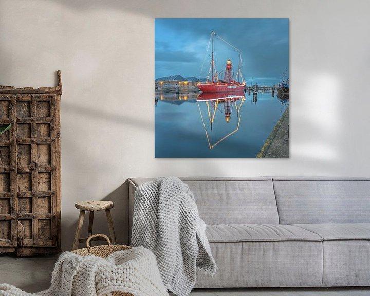 Sfeerimpressie: Lichtschip Texel in Den Helder van Justin Sinner Pictures ( Fotograaf op Texel)