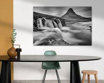 Wasserfall Kirkjufellsfoss von Menno Schaefer