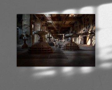 verlaten elektriciteitscentrale van Kristof Ven