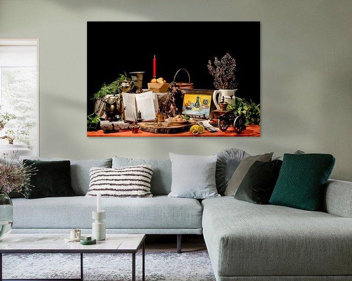 Beispiel: Ein modernes Stillleben von Danny de Jong