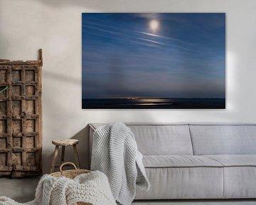 Mondschein auf der Maasvlakte