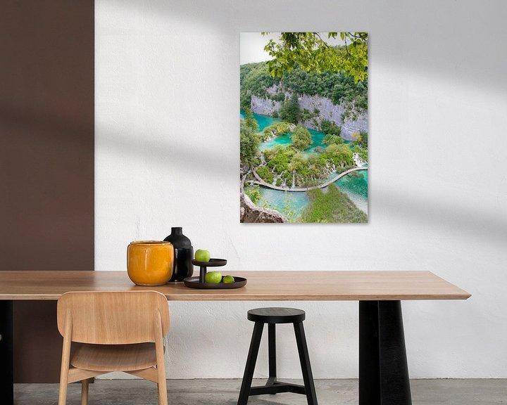 Sfeerimpressie: Plitvicemeren Kroatië van Marly Tijhaar