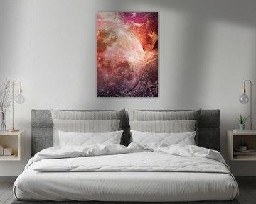MOON under MAGIC SKY IV-2 von Pia Schneider