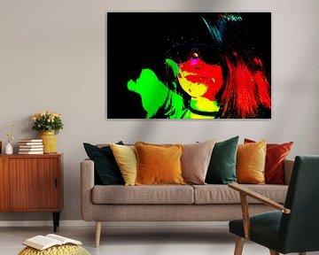 Kleurexplosie van Ans Bastiaanssen