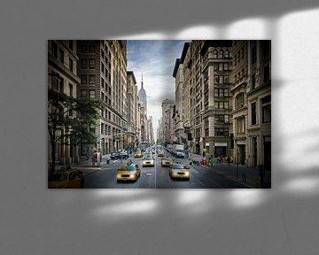 NEW YORK CITY 5th Avenue Traffic van Melanie Viola
