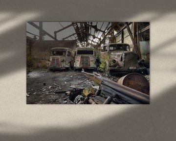verlassene Lieferwagen von Kristof Ven