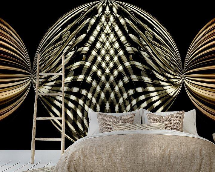 Beispiel fototapete: Geometrische Kunst von Mieneke Andeweg-van Rijn