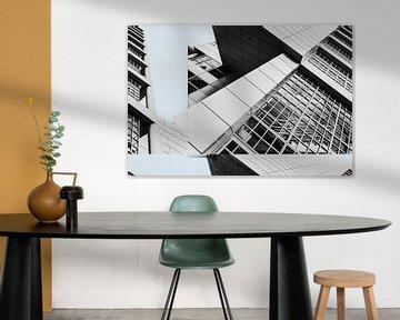 Architectonisch lijnenspel van Mieneke Andeweg-van Rijn