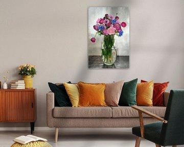 Boeket bloemen von Jeannette Penris