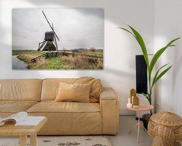 Zandwijkse Windmolen in Uppel van Marcel Derweduwen
