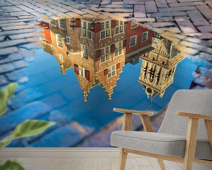 Sfeerimpressie behang: Delft Reflection van Gerhard Nel