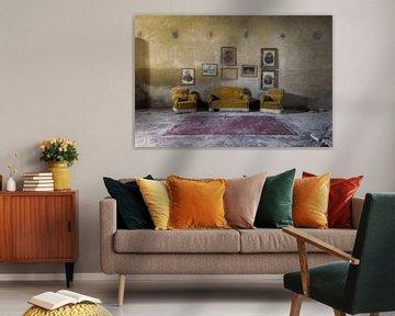 verlaten sofa's van Kristof Ven
