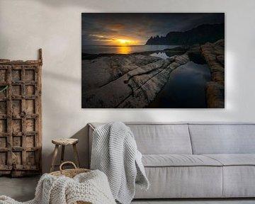 Tugeneset rocky coast van Wojciech Kruczynski