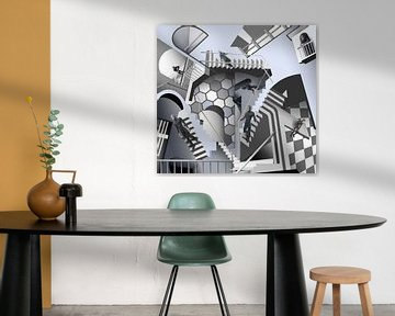 Eschers trap sur Dray van Beeck