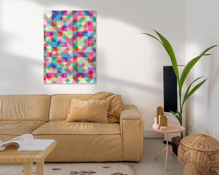 Sfeerimpressie: Summer Blocks & Colours van Carla van Dulmen