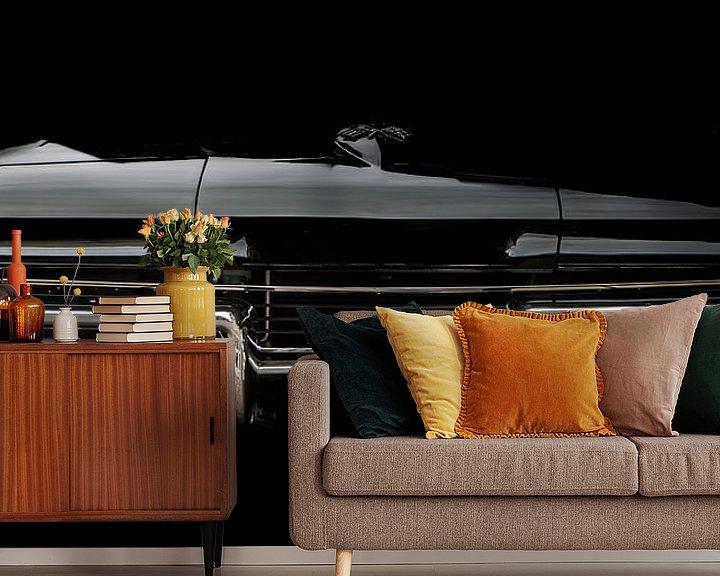 Sfeerimpressie behang: Corvette van marco de Jonge