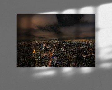 New York by Night van Lex van Doorn