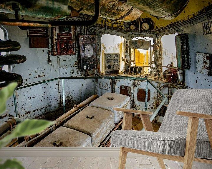Beispiel fototapete: Maschinenraum Orient Express von Danny de Jong