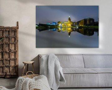 Das gespiegelte Museum Boijmans van Beuningen in Rotterdam von MS Fotografie | Marc van der Stelt