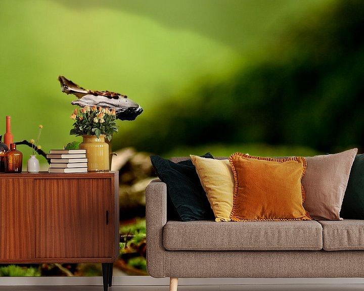 Sfeerimpressie behang: Paddenstoel van Arno-Jan Boere