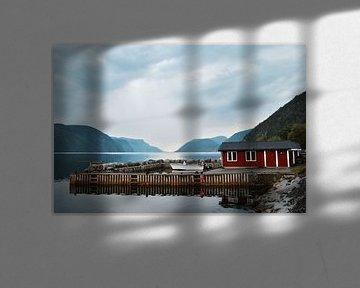 Kleine Noorse haven van Mike Landman
