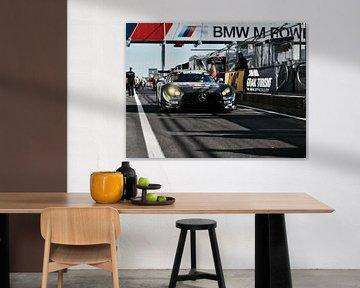 Mercedes GT AMG van Mike Landman