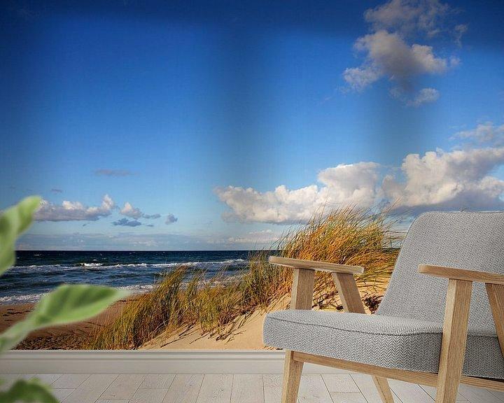 Beispiel fototapete: Herbstdünen von Ostsee Bilder