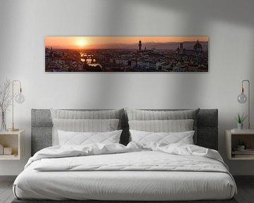 Florence panorama van Arnold van Wijk