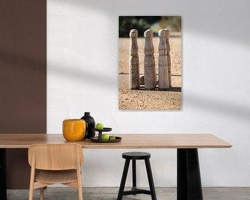 houten kegel spel