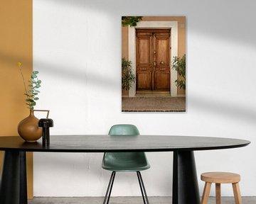 Houten deur in Cassis van Joran Maaswinkel