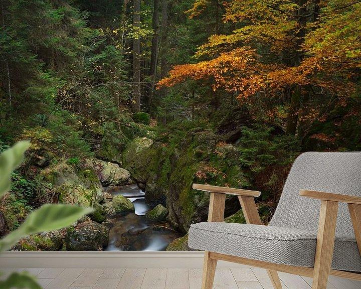 Sfeerimpressie behang: Herfst in Beieren van Rob Christiaans
