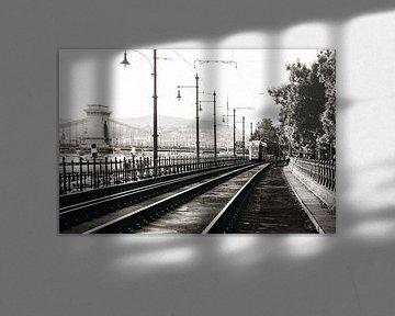 voie ferrée à budapest sur Kristof Ven